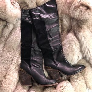 Lucky Brand 🍀 Knee High Leather Boots 👢